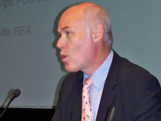 Philip Wolfe speaking at a conference in 2006