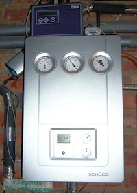 Solar thermal system controls