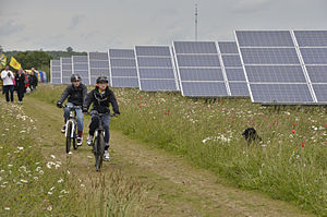 An Open Day at Westmill Solar Co-operative