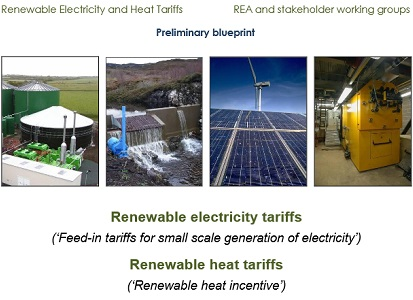Cover shot of REA renewable energy tariffs report